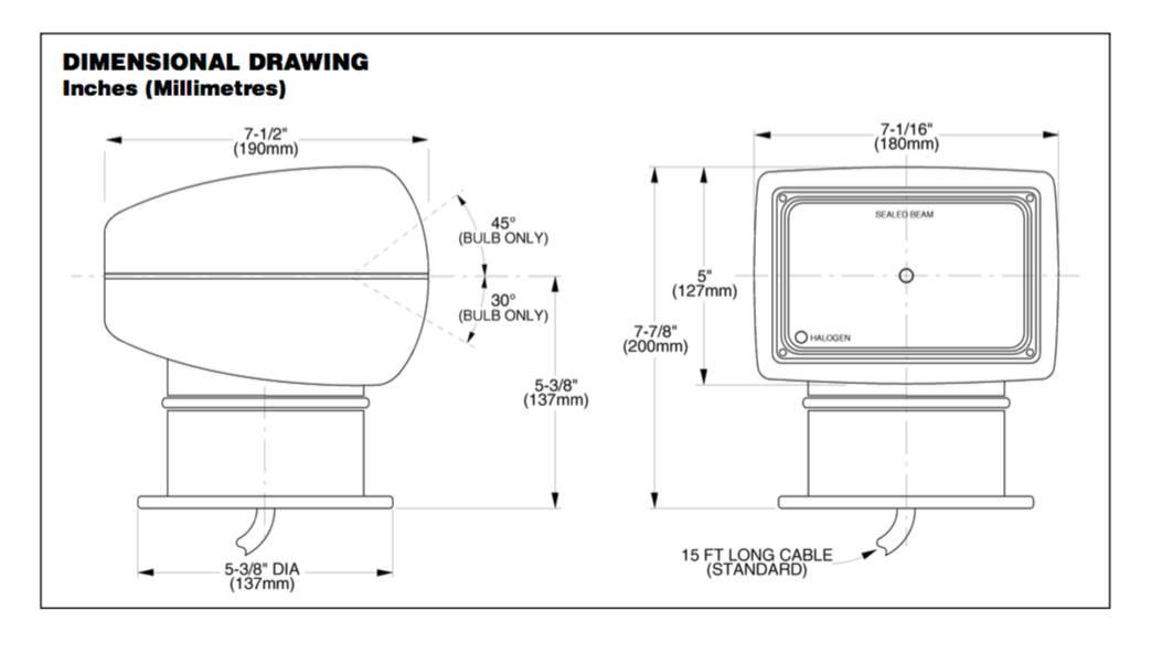 itt jabsco searchlight wiring diagram wiring a lamp Headlight Wiring Diagram Headlight Wiring Diagram